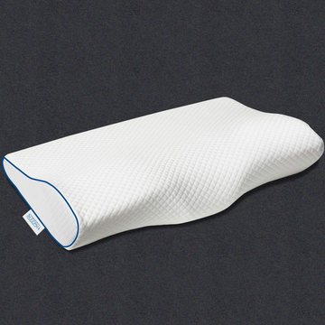 Orthopedic Memory Foam Pillow for Sleeping, Ergonomic Cervical Pillow for Neck Pain - for Stomach, Side and Back Sleepers